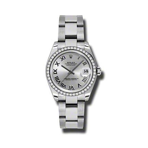 Oyster Perpetual Datejust 31mm Diamond Bezel 178384 sro
