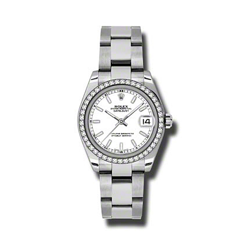 Oyster Perpetual Datejust 31mm Diamond Bezel 178384 wio