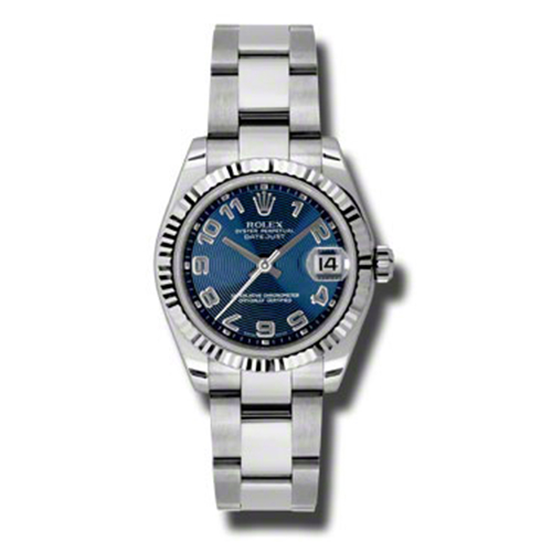 Oyster Perpetual Datejust 31mm Fluted Bezel 178274 blcao