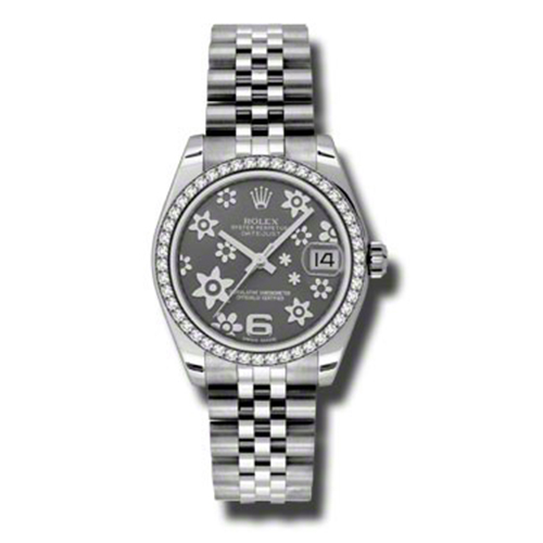 Oyster Perpetual Datejust 31mm Diamond Bezel 178384 rfj