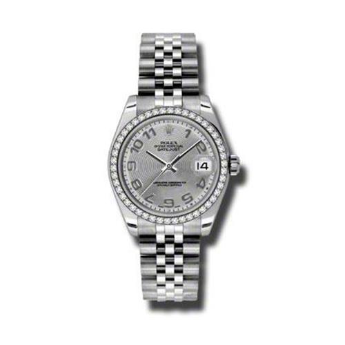 Oyster Perpetual Datejust 31mm Diamond Bezel 178384 scaj