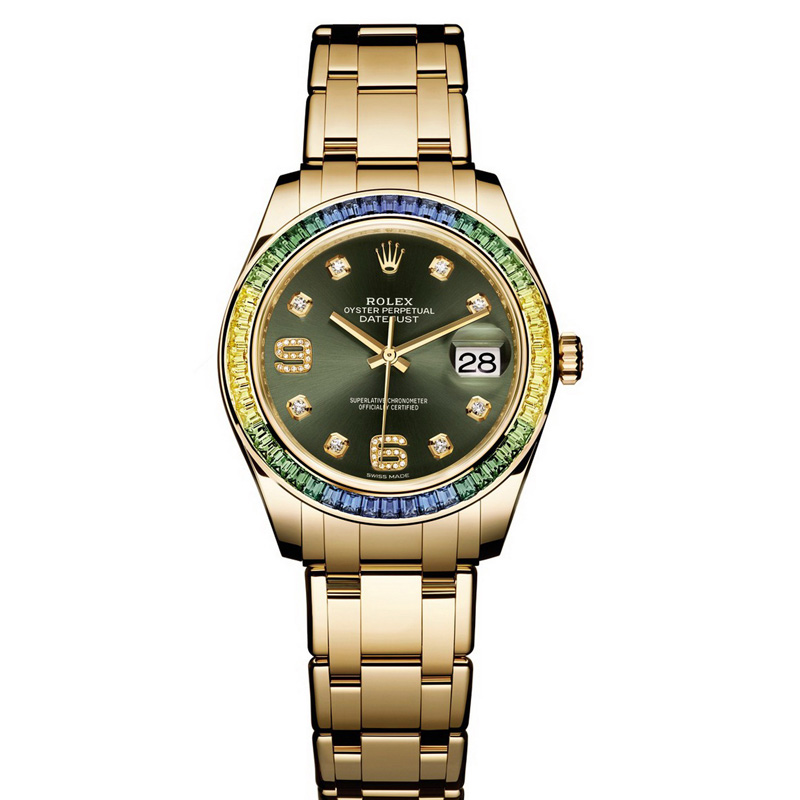 Oyster Perpetual Datejust Pearlmaster 39 86348SABLV (Yellow Gold)