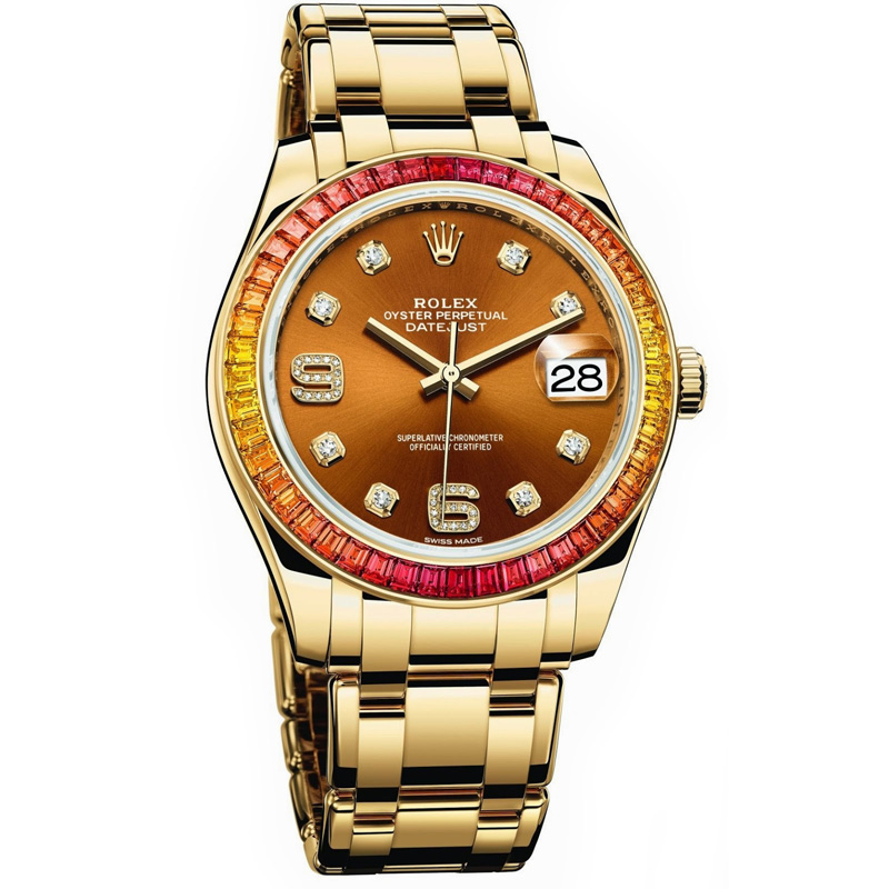 Oyster Perpetual Datejust Pearlmaster 39 86348SAJOR (Yellow Gold)