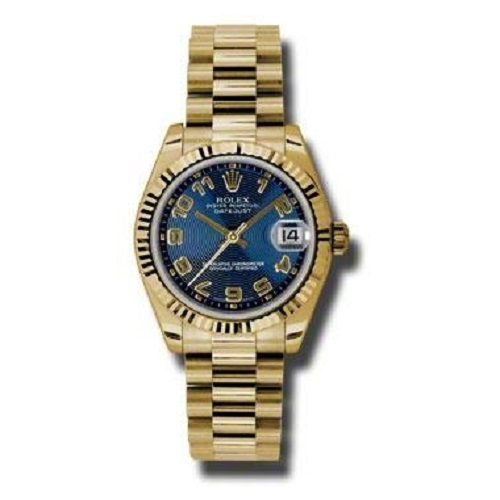 Oyster Perpetual Datejust Watch 178278 blcap