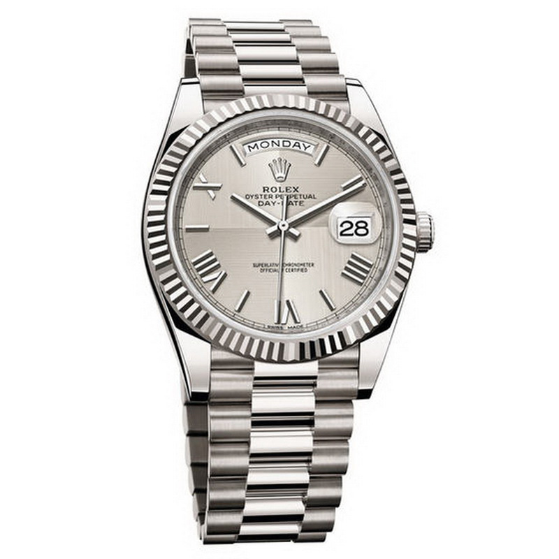 Oyster Perpetual Day-Date 40 228239 (White Gold)