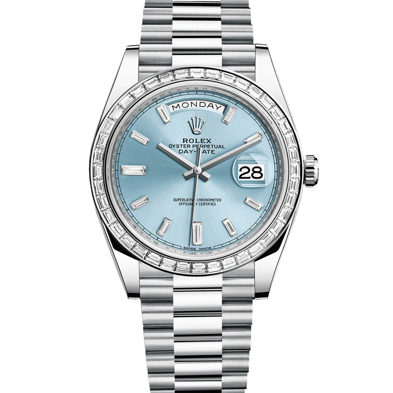 Oyster Perpetual Day-Date 40 228396TBR (Platinum)