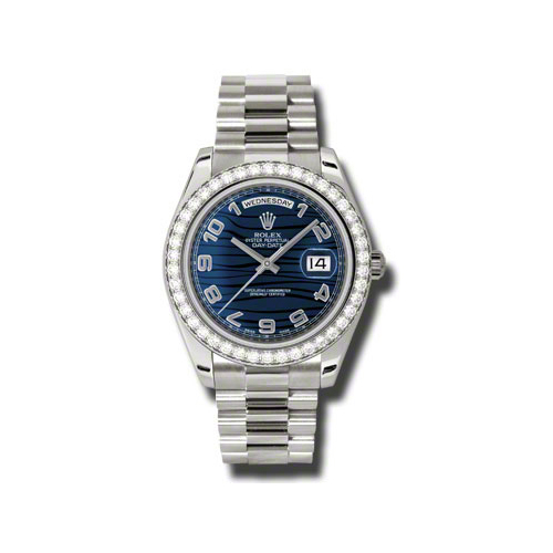 Oyster Perpetual Day-Date II 218349 blwap