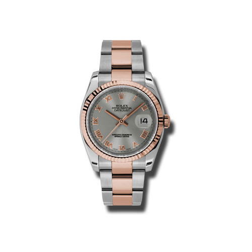 Oyster Perpetual Datejust 36mm Fluted Bezel 116231 stro