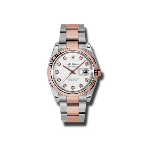 Oyster Perpetual Datejust 36mm Fluted Bezel 116231 wdo