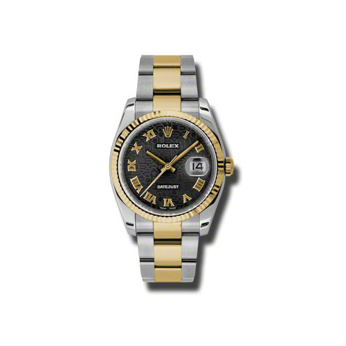 Oyster Perpetual Datejust 36mm Fluted Bezel 116233 bkjro