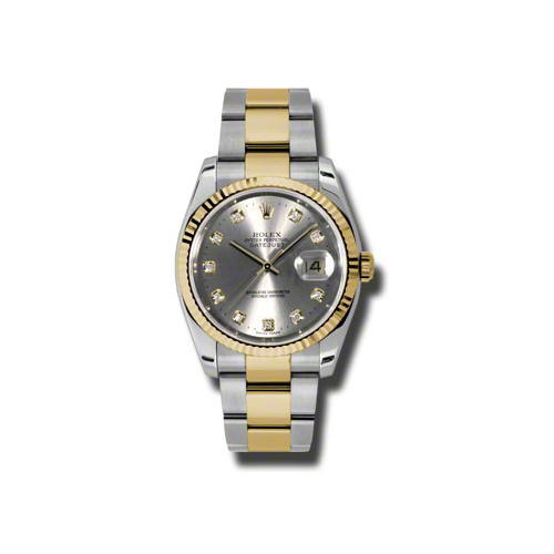 Oyster Perpetual Datejust 36mm Fluted Bezel 116233 gdo