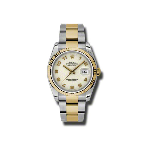 Oyster Perpetual Datejust 36mm Fluted Bezel 116233 ijao