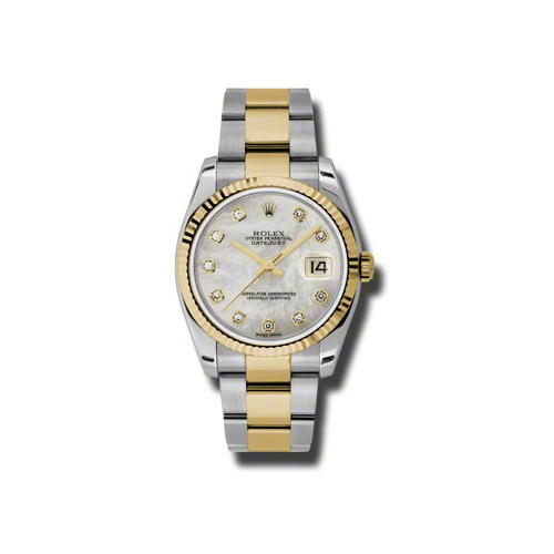 Oyster Perpetual Datejust 36mm Fluted Bezel 116233 mdo