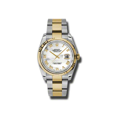 Oyster Perpetual Datejust 36mm Fluted Bezel 116233 mro