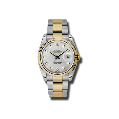 Oyster Perpetual Datejust 36mm Fluted Bezel 116233 sdo