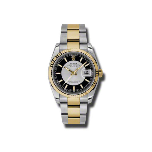 Oyster Perpetual Datejust 36mm Fluted Bezel 116233 stbkso