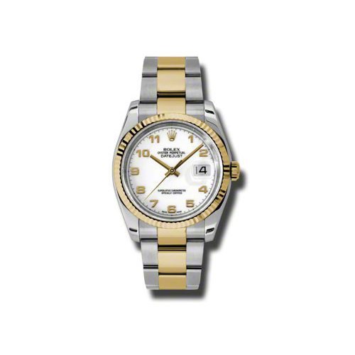 Oyster Perpetual Datejust 36mm Fluted Bezel 116233 wao