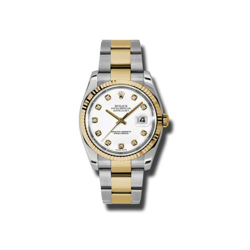 Oyster Perpetual Datejust 36mm Fluted Bezel 116233 wdo