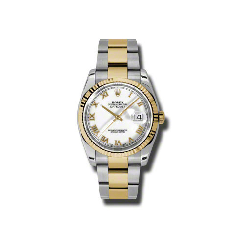 Oyster Perpetual Datejust 36mm Fluted Bezel 116233 wro