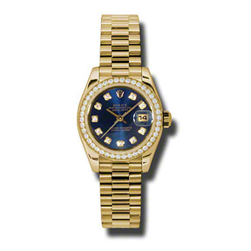 Oyster Perpetual Lady-Datejust 179138 bldp
