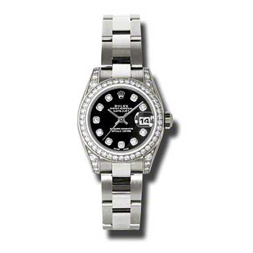 Oyster Perpetual Lady-Datejust 179159 bkdo