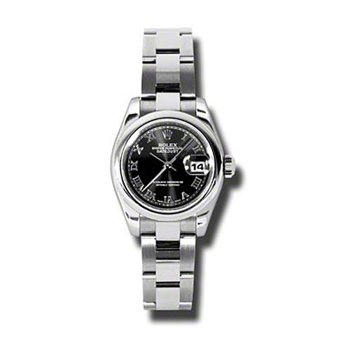 Oyster Perpetual Lady-Datejust 26 179160 bkro