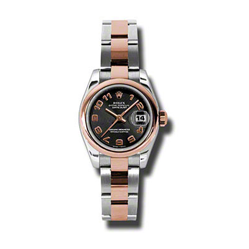 Oyster Perpetual Lady-Datejust 179161 bkcao