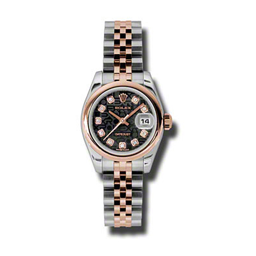 Oyster Perpetual Lady-Datejust 26 Domed Bezel 179161 bkjdj