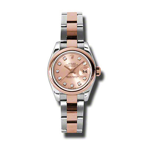 Oyster Perpetual Lady-Datejust 26 Domed Bezel 179161 pdo