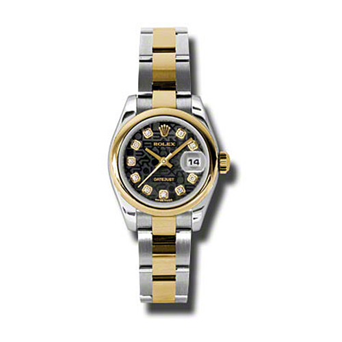 Oyster Perpetual Lady-Datejust 179163 bkjdo