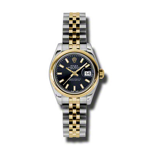 Oyster Perpetual Lady-Datejust 26 Domed Bezel 179163 bksj