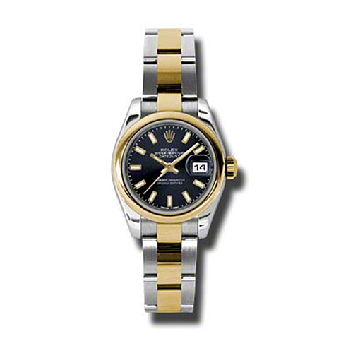 Oyster Perpetual Lady-Datejust 26 Domed Bezel 179163 bkso