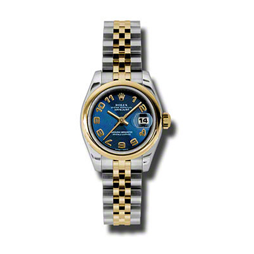 Oyster Perpetual Lady-Datejust 26 Domed Bezel 179163 blcaj