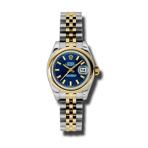 Oyster Perpetual Lady-Datejust 26 Domed Bezel 179163 blsj
