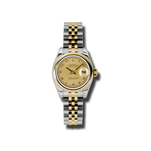 Oyster Perpetual Lady-Datejust 26 Domed Bezel 179163 chaj