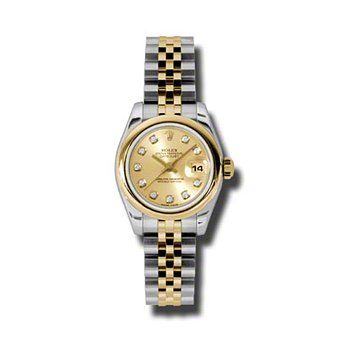 Oyster Perpetual Lady-Datejust 26 Domed Bezel 179163 chdj