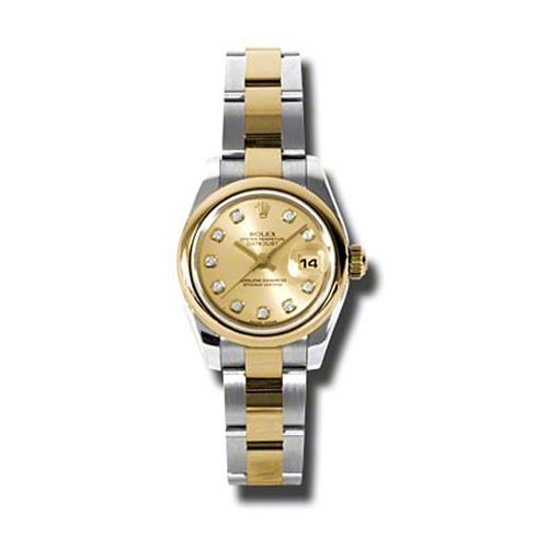 Oyster Perpetual Lady-Datejust 26 Domed Bezel 179163 chdo