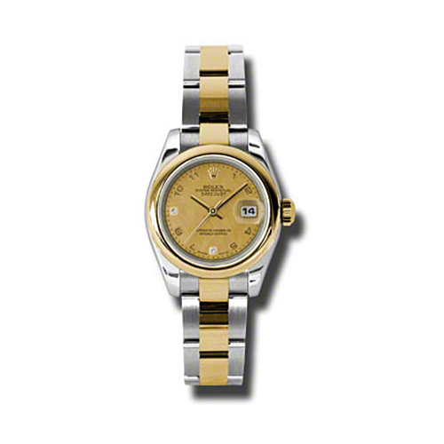 Oyster Perpetual Lady-Datejust 26 Domed Bezel 179163 chgdmdao