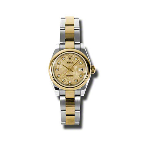 Oyster Perpetual Lady-Datejust 26 Domed Bezel 179163 chjdo