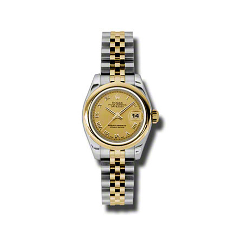 Oyster Perpetual Lady-Datejust 26 Domed Bezel 179163 chrj