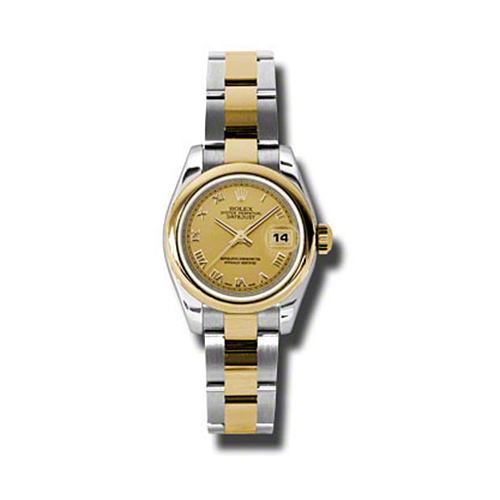 Oyster Perpetual Lady-Datejust 26 Domed Bezel 179163 chro