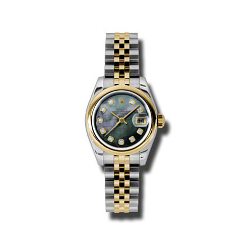 Oyster Perpetual Lady-Datejust 26 Domed Bezel 179163 dkmdj