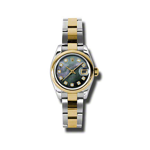 Oyster Perpetual Lady-Datejust 26 Domed Bezel 179163 dkmdo