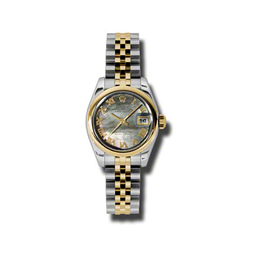 Oyster Perpetual Lady-Datejust 26 Domed Bezel 179163 dkmrj