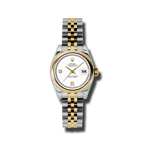 Oyster Perpetual Lady-Datejust 26 Domed Bezel 179163 wadj