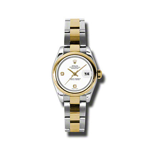 Oyster Perpetual Lady-Datejust 26 Domed Bezel 179163 wado