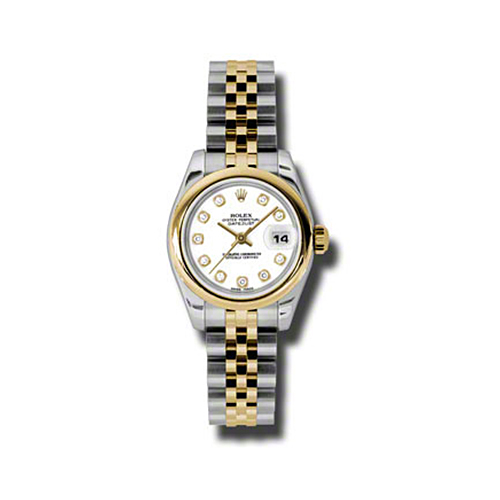 Oyster Perpetual Lady-Datejust 26 Domed Bezel 179163 wdj