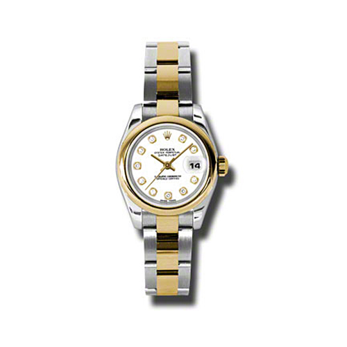 Oyster Perpetual Lady-Datejust 26 Domed Bezel 179163 wdo