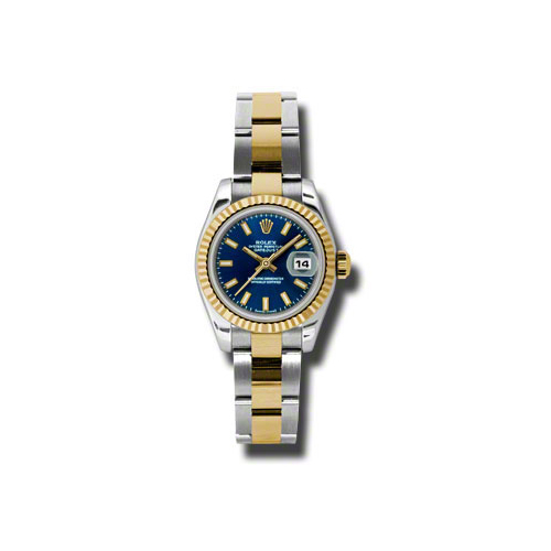 Oyster Perpetual Lady-Datejust 26 Fluted Bezel 179173 blso