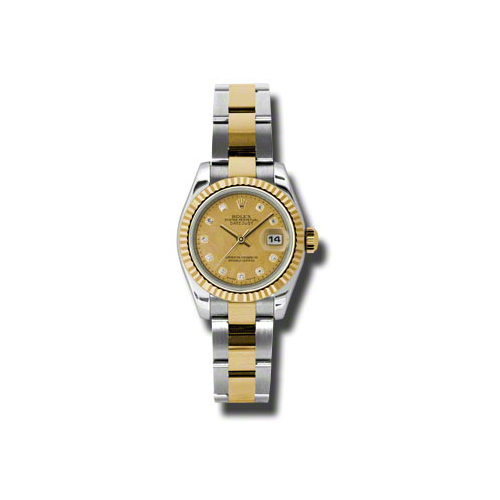 Oyster Perpetual Lady Datejust 179173 chgdmdo